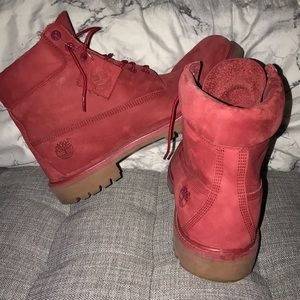 6 Inch Premium Boot 'Pomegranate'